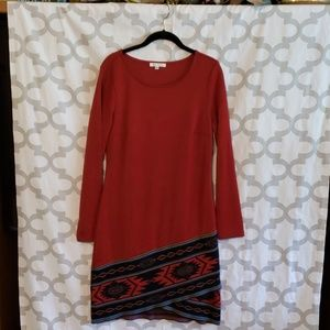 Spense Dress. Size 8.  BOHO. Native American.